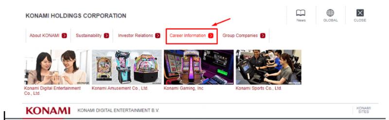 trabajar en Konami