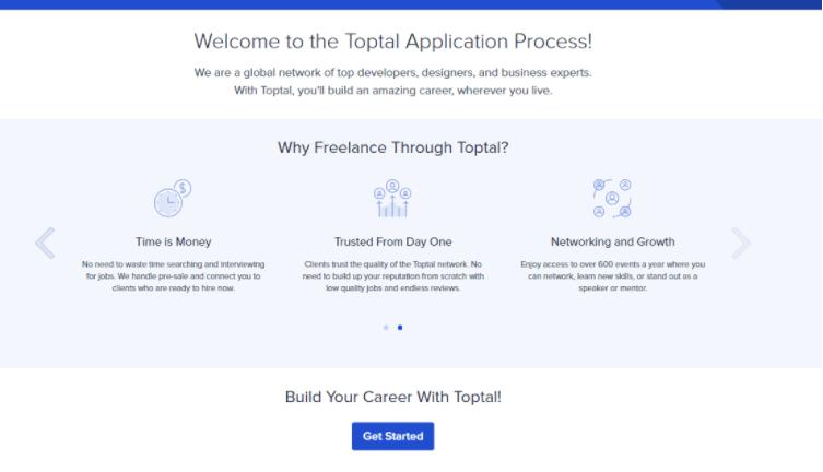 TopTal comenzar freelance