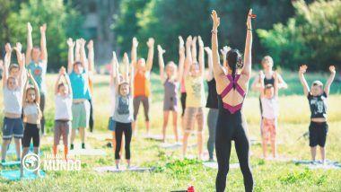 Cursos yoga con niños