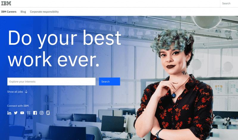 Trabajar en IBM