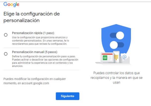 Crear o subir archivos a Google Drive