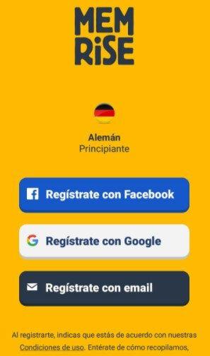 app de Memrise