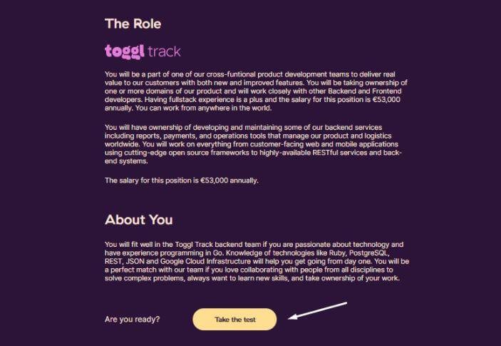herramienta de Toggl