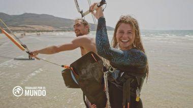 mejores destinos para hacer kitesurf y trabajar como nómada digital