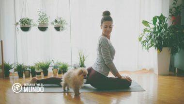 5 Beneficios de practicar yoga cuando trabajas desde casa