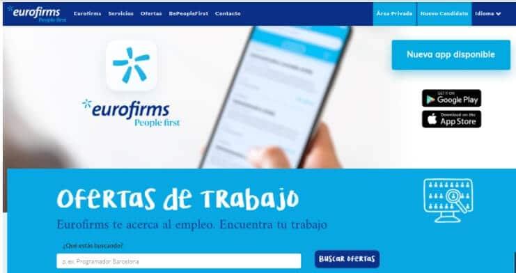 empleo en Eurofirms