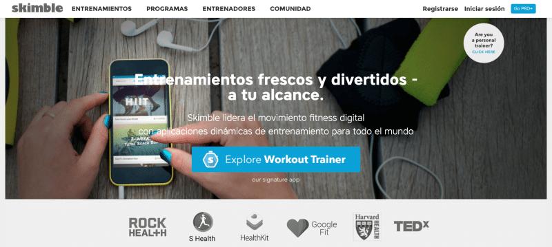 Plataformas y apps para entrenar desde casa o hacer ejercicio desde cualquier lugar del mundo
