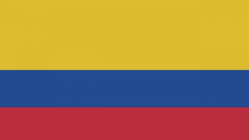 Descargar bandera de Colombia