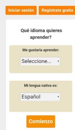 idiomas LiveMocha