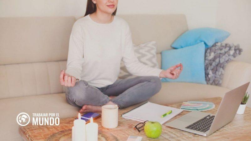 mindfulness trabajar desde casa