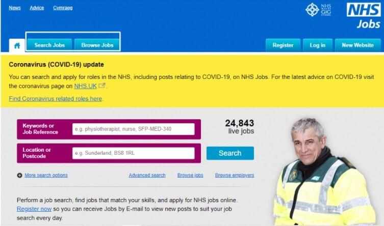Empleos para extranjeros en el NHS